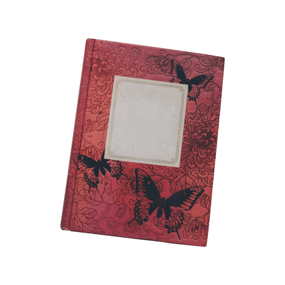 Red Blank Journal
